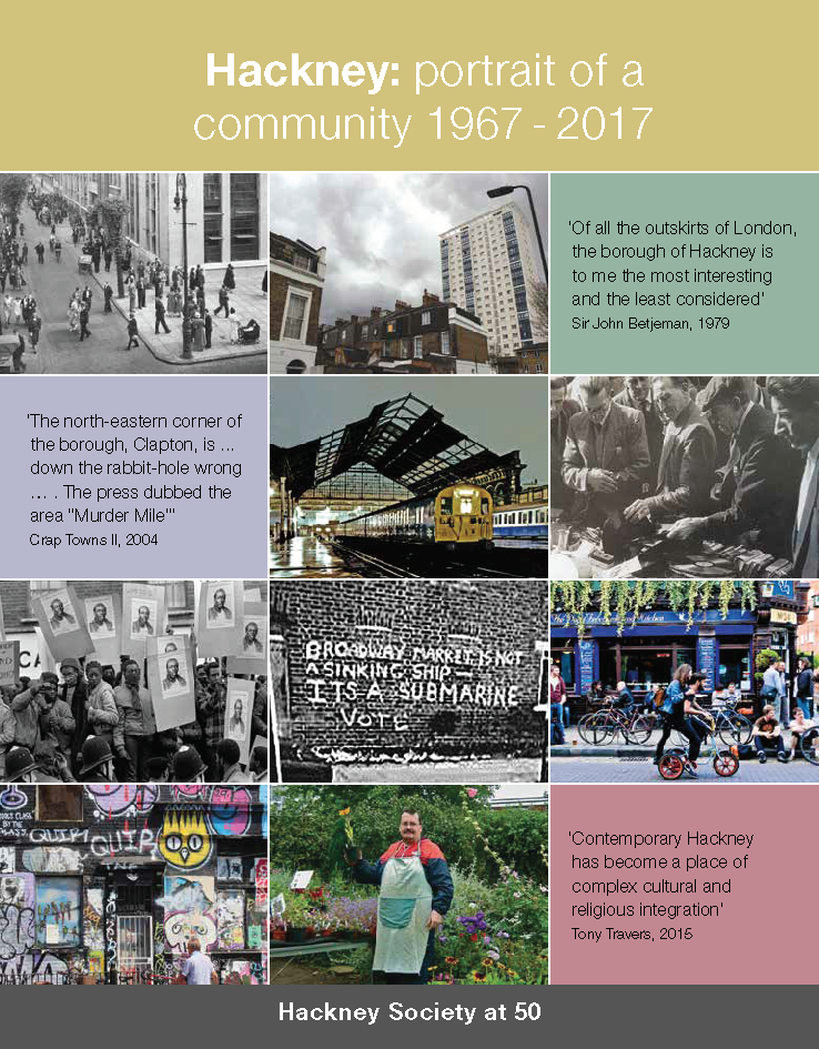 Advert: NEW BOOK: Hackney - portrait of a community 1967-2017