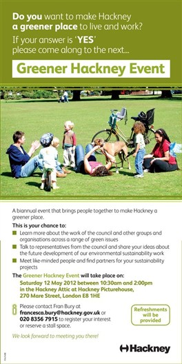 Photo: Illustrative image for the 'Greener Hackney' page
