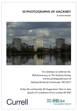 Photo:Details of the 50 Photographs of Hackney exhibition