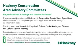 Photo: Illustrative image for the 'Conservation Areas Advisory Committees' page