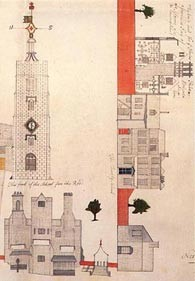 Photo: Illustrative image for the 'Plan of Hackney Church & Churchyard, 1794' page